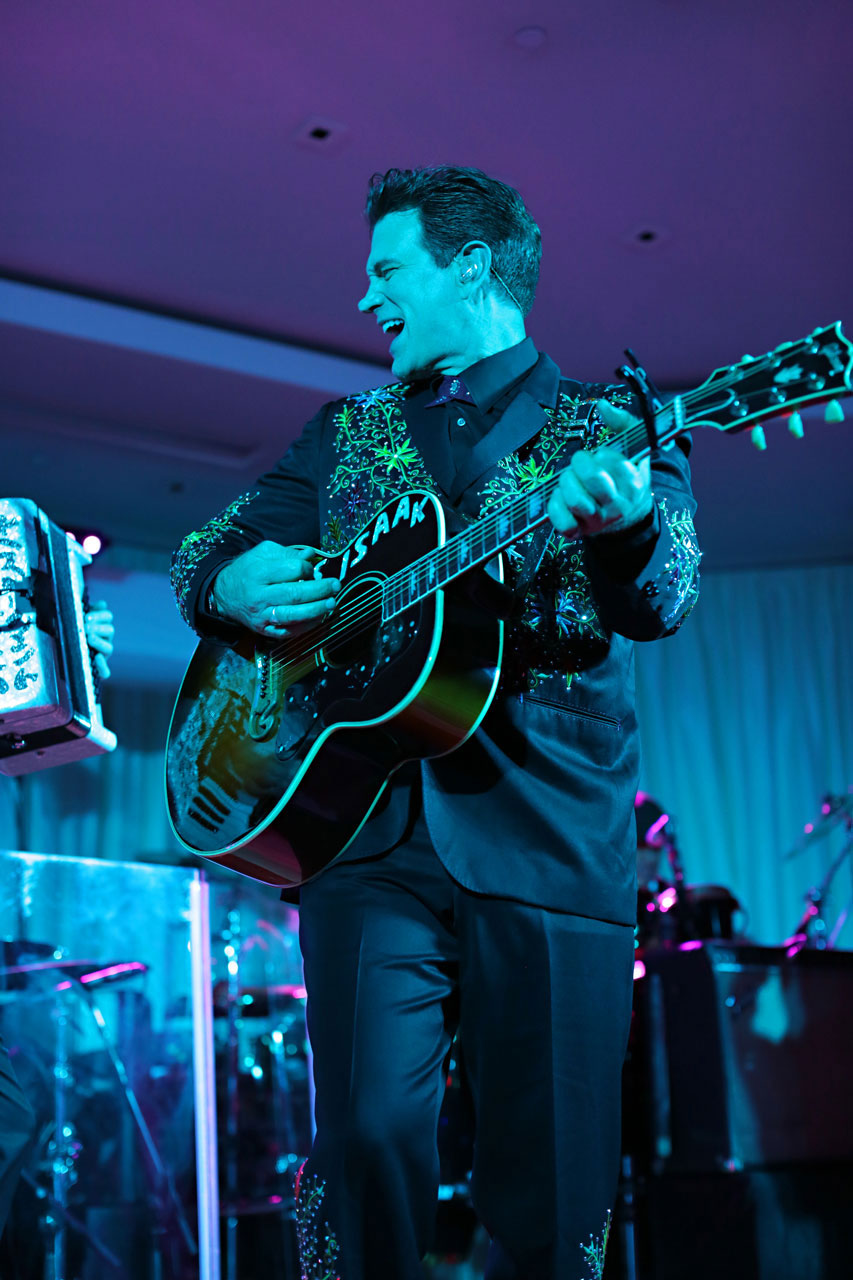 Coral Casino Ocean Front Dinner with Chris Isaak