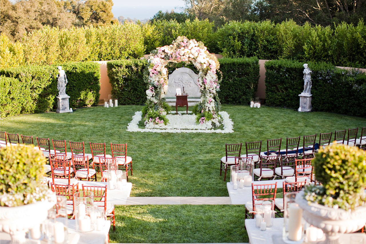 Montecito Estate Wedding with Private Kenny Loggins Concert