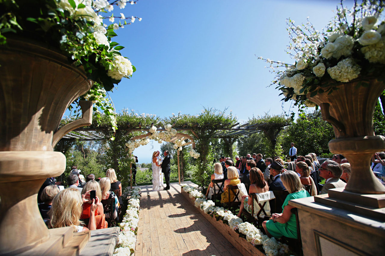 San Ysidro Ranch Wedding with the Rainbow Room Orchestra